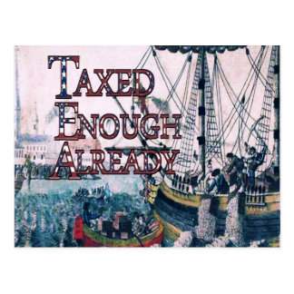 Taxed Enough Already T-shirts and Gifts, Magnets, Postcard
