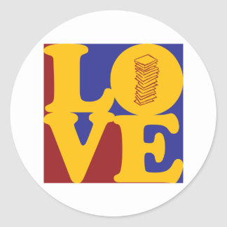 Taxes Love Stickers