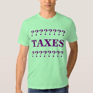 taxes t-shirts