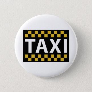 Taxi 6 Cm Round Badge