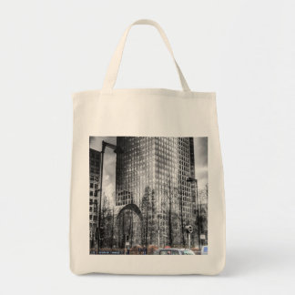 Taxi at Canary Wharf Tote Bag
