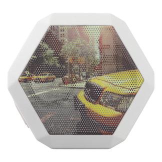 taxi white boombot rex bluetooth speaker