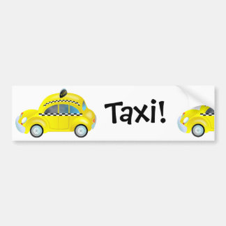 Taxi! Bumper Sticker