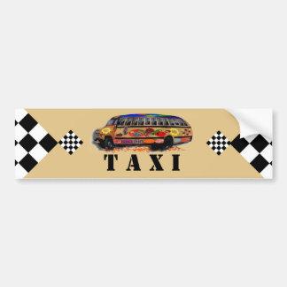 Taxi Bumper Sticker