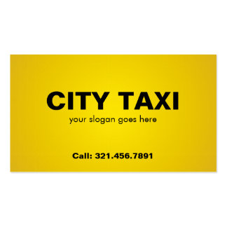 Taxi - Business Cards