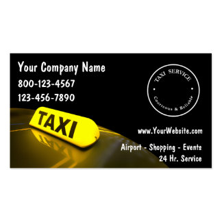 Taxi Business Cards
