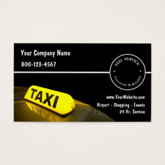 Taxi Business Cards New