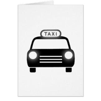 Taxi Cab Card