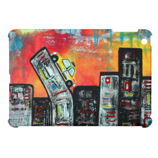 Taxi Cab City Art iPad Mini Case