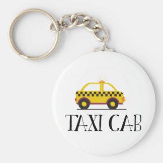 Taxi Cab Key Ring