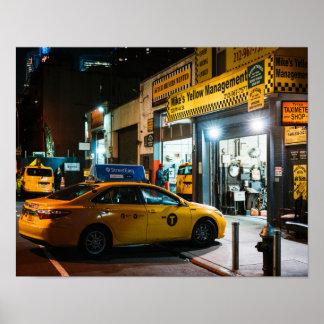 Taxi Depot Poster