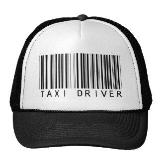 Taxi Driver Bar Code Cap