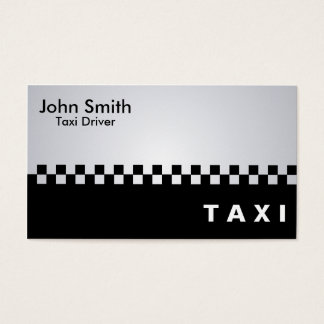 Taxi Driver - Business Cards