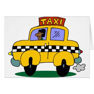 Taxi Driver Card