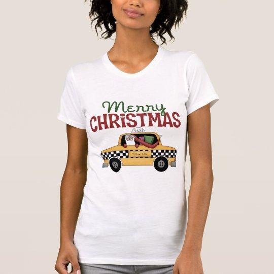 Taxi Driver Christmas T-Shirt
