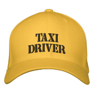 TAXI DRIVER BASEBALL CAP