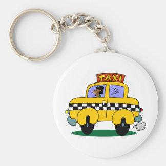Taxi Driver Key Ring
