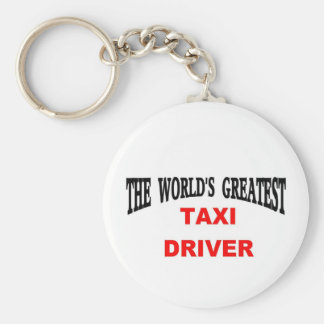 taxi driver key ring