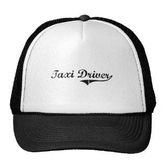 Taxi Driver Professional Job Cap