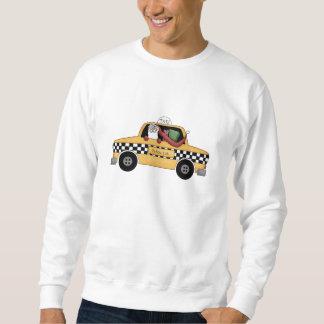 Taxi Driver Santa Sweatshirt