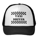 TAXI DRIVER TRUCKER HAT