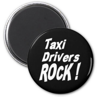 Taxi Drivers Rock! Magnet