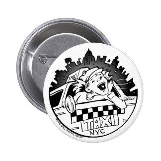 Taxi Girl_Button 6 Cm Round Badge