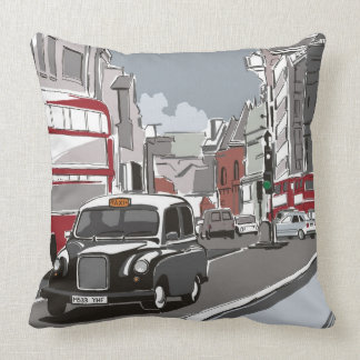 Taxi in London Cushion