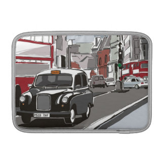 Taxi in London MacBook Sleeve