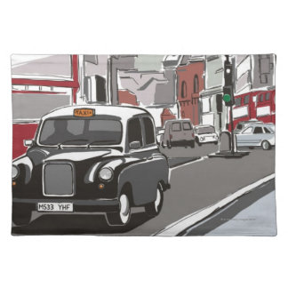 Taxi in London Placemat