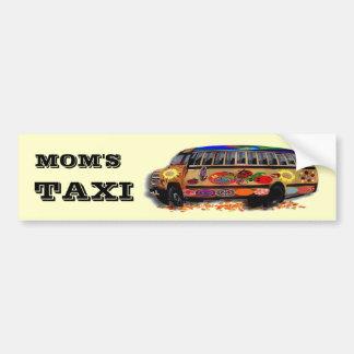 Taxi Ladybugs Bumper Sticker