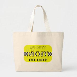 Taxi Mom Jumbo Tote Bag