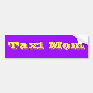 Taxi Mum Bumper Sticker