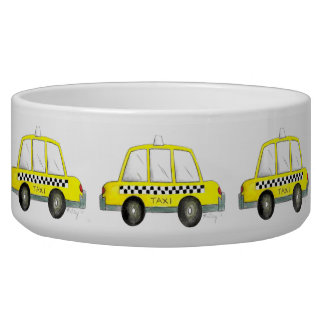 Taxi NYC Yellow New York City Checkered Cab Gift