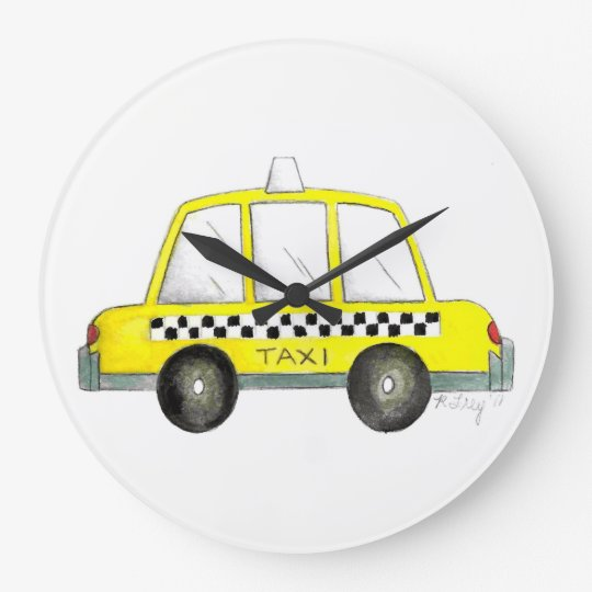 Taxi NYC Yellow New York City Chequered Cab