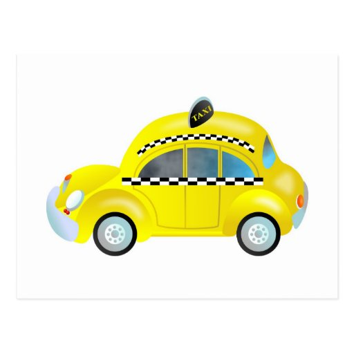 Taxi Post Card