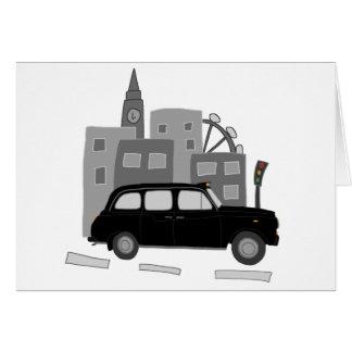 Taxi Scene Card