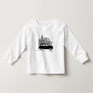 Taxi Scene Toddler T-Shirt