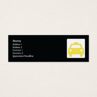 Taxi - Skinny Mini Business Card