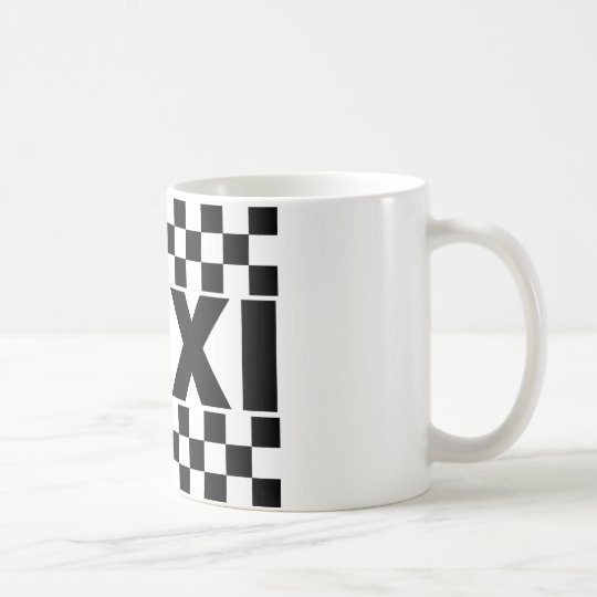 Taxi ~ Taxi Cab ~ Car For Hire Coffee Mug