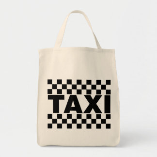 Taxi ~ Taxi Cab ~ Car For Hire Tote Bag