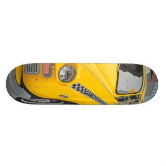 Taxicab Skateboard Deck (wheels optional)