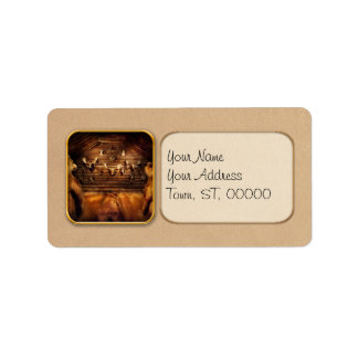 Taxidermy - Home of the three bears Address Label