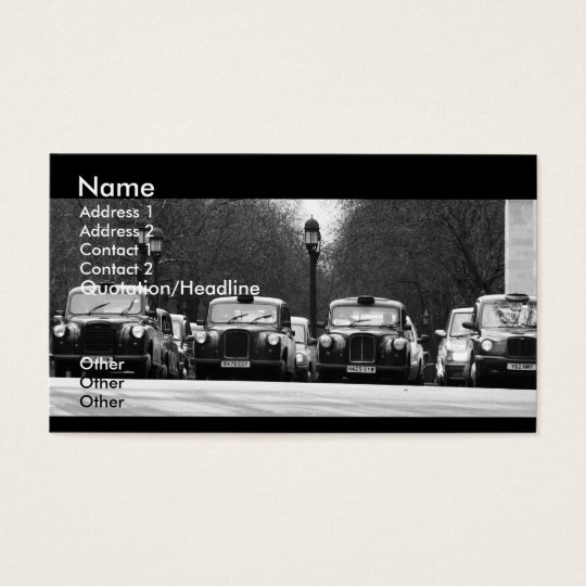 Taxis Business Card