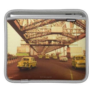 Taxi's on a Bridge iPad Sleeves