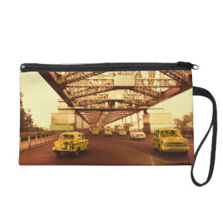 Taxi's on a Bridge Wristlet