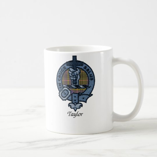 Taylor Clan Crest Coffee Mug