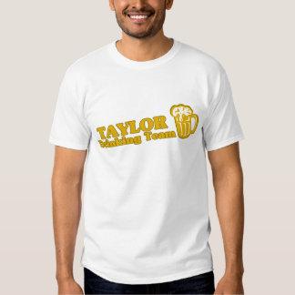 Taylor Drinking Team tee shirts