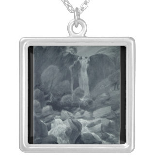 Taylor Ghyll, Sty Head, Borrowdale, 1806 Silver Plated Necklace