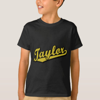 Taylor in Gold T-Shirt